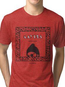 Kaytranada with white 'kayta' Tri-blend T-Shirt