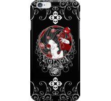 Poison - Black Rose on Black iPhone Case/Skin