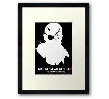 Metal Gear Solid v Framed Print