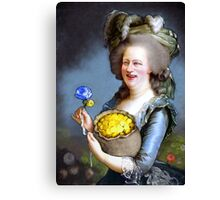 Allegory : David Cameron as Madame Déficit Canvas Print