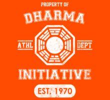 Dharma Initiative athletic department (Light ver.) Kids Tee