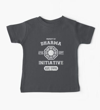 Dharma Initiative athletic department (Light ver.) Baby Tee