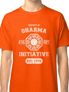 Dharma Initiative athletic department (Light ver.) Classic T-Shirt