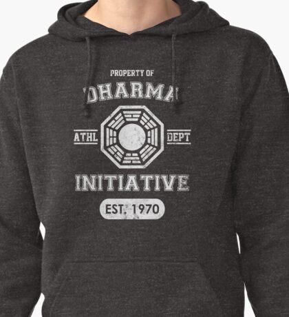 Dharma Initiative athletic department (Light ver.) Pullover Hoodie