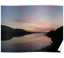 Sunset at Bettyhill Poster