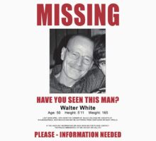 Have You Seen Walter White? (Breaking Bad) by RWHTL
