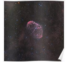 NGC 6888 - Crescent Nebula Poster