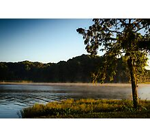 Morning Lake Fog Photographic Print