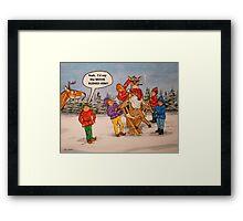 Rudolph, The Movie Star Framed Print
