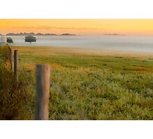 Morning Field of Fog Photographic Print