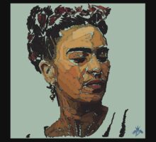 Abstract Tribute to Frida by TheProducerBDB