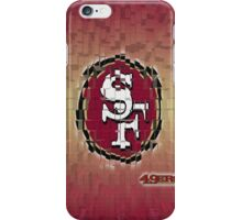 49ers Retro iPhone Case/Skin