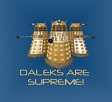 Daleks are Supreme by markscamilleri