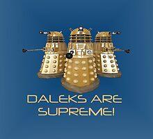 Daleks are Supreme by markscamilleri