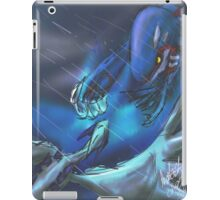 kyogre vs lugia iPad Case/Skin