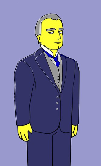 Lord Grantham - Hugh Bonneville - Downtown Abbey by Donna Huntriss