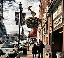DOWNTOWN: NASHVILLE, TENNESSEE, U.S.A....BEFORE THE FLOOD by © Bob Hall