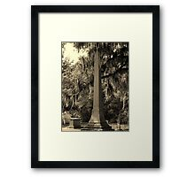 Pentacle's Glory Artistic Photograph by Shannon Sears  Framed Print