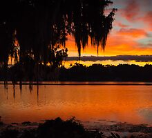 Colorful Lake Sunrise by Douglas Hamilton