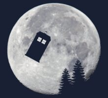 Tardis by the Moon by Awkwardphoton