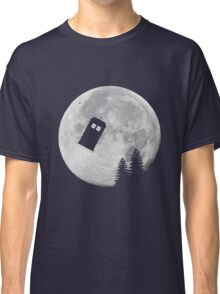 Tardis by the Moon Classic T-Shirt
