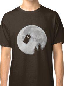 Tardis by the Moon Classic T-Shirt