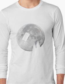 Tardis by the Moon Long Sleeve T-Shirt