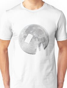 Tardis by the Moon Unisex T-Shirt