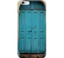 Blue Door Mexico iPhone Case/Skin