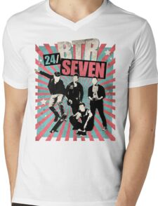 24/SEVEN Mens V-Neck T-Shirt