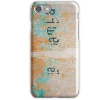 City Wall Mexico iPhone Case/Skin