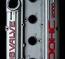Mitsubishi Valve Cover 4G63 (Samsung Case) by Hector Flores