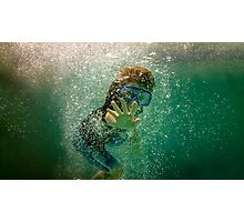 Underwater Wave Photographic Print