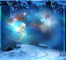 Holy Night - Christmas Art By Giada Rossi by giadarossi