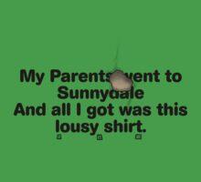 My Parents Went to Sunnydale version 2 Kids Clothes