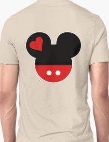 Couple design: Mickey 2 Unisex T-Shirt
