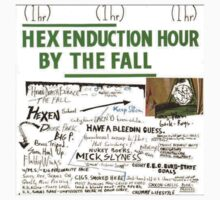 The Fall - Hex Enduction Hour Album Cover Tee by MisterDawson