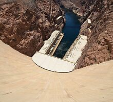 Hoover Dam - Wide! by Steve St.Amand