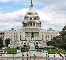 US Capitol Building by IdleAmusement