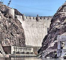Hoover Dam  by Steve St.Amand