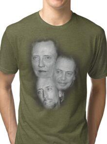 Three Star Moon Tri-blend T-Shirt