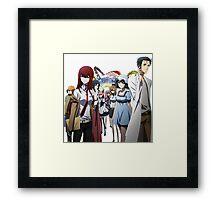 Steins Gate Framed Print