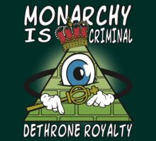 Monarchy Is Criminal - Dethrone Royalty by Immortalized