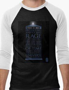 Dr. Who - He's Wonderful Men's Baseball ¾ T-Shirt