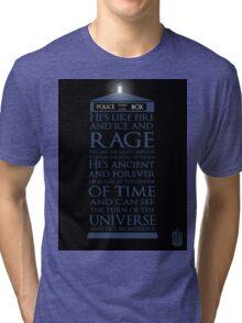 Dr. Who - He's Wonderful Tri-blend T-Shirt