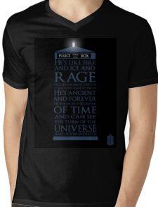 Dr. Who - He's Wonderful Mens V-Neck T-Shirt