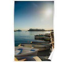 Monterey Boat Poster