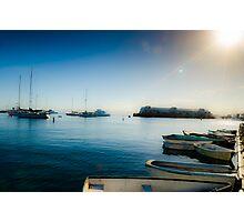 Monterey Boats Photographic Print