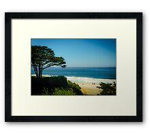 Carmel Landscape Framed Print