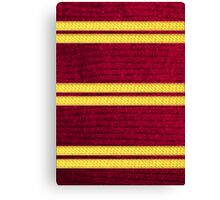 Knitted Scarf - Gryffindor Canvas Print